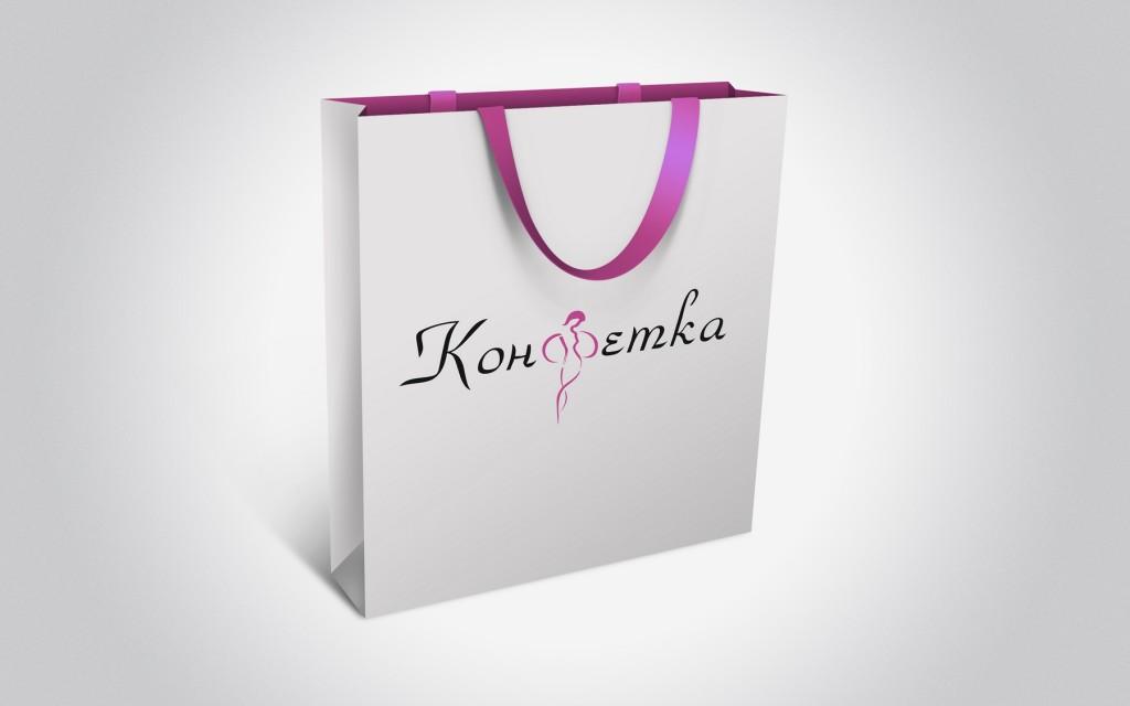 Конфетка студия красоты логотип 4