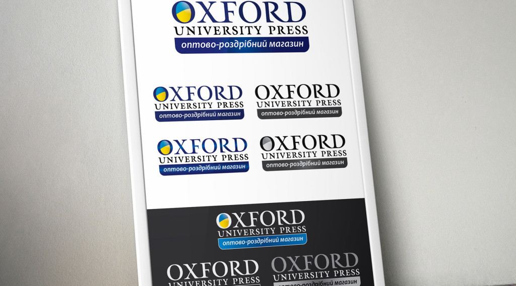 Логотип Oxford UP