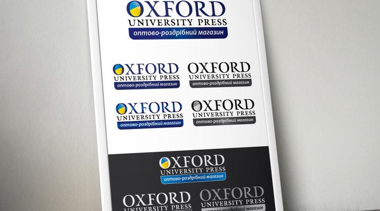 Логотип Oxford UP