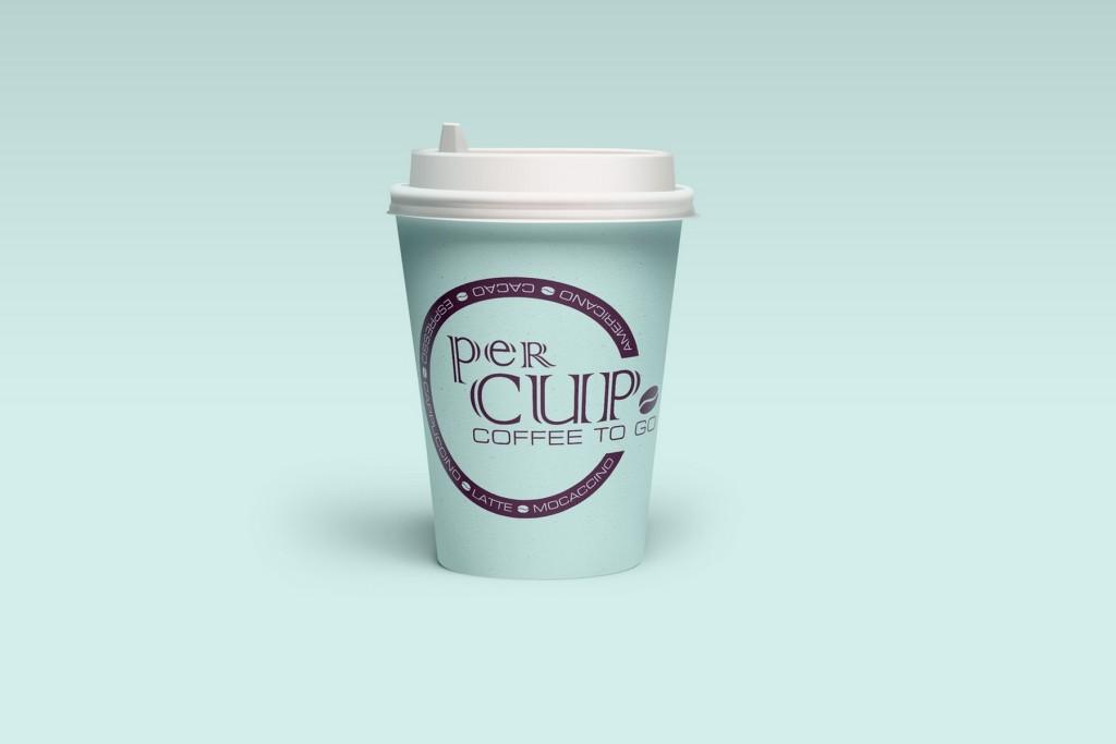 CoffeeStation брендинг стаканчика