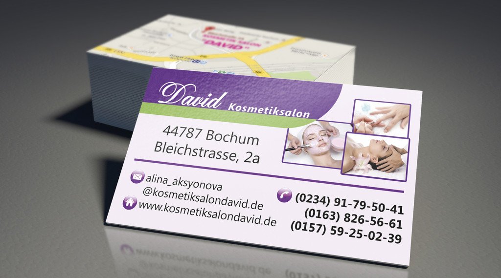 David визитки