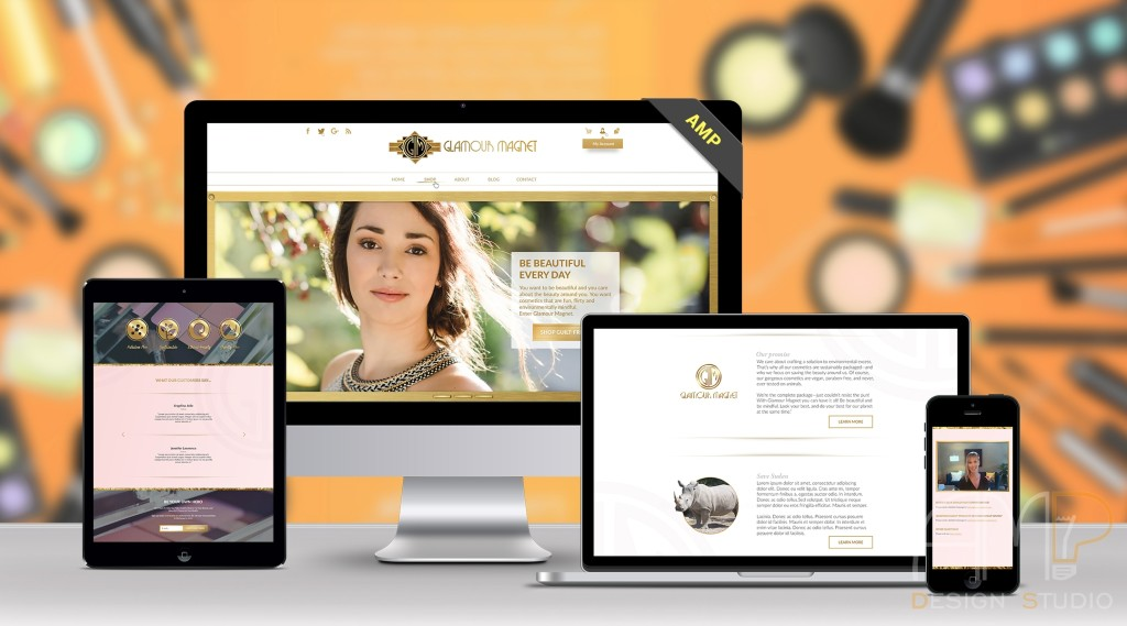Glamour Magnet сайт