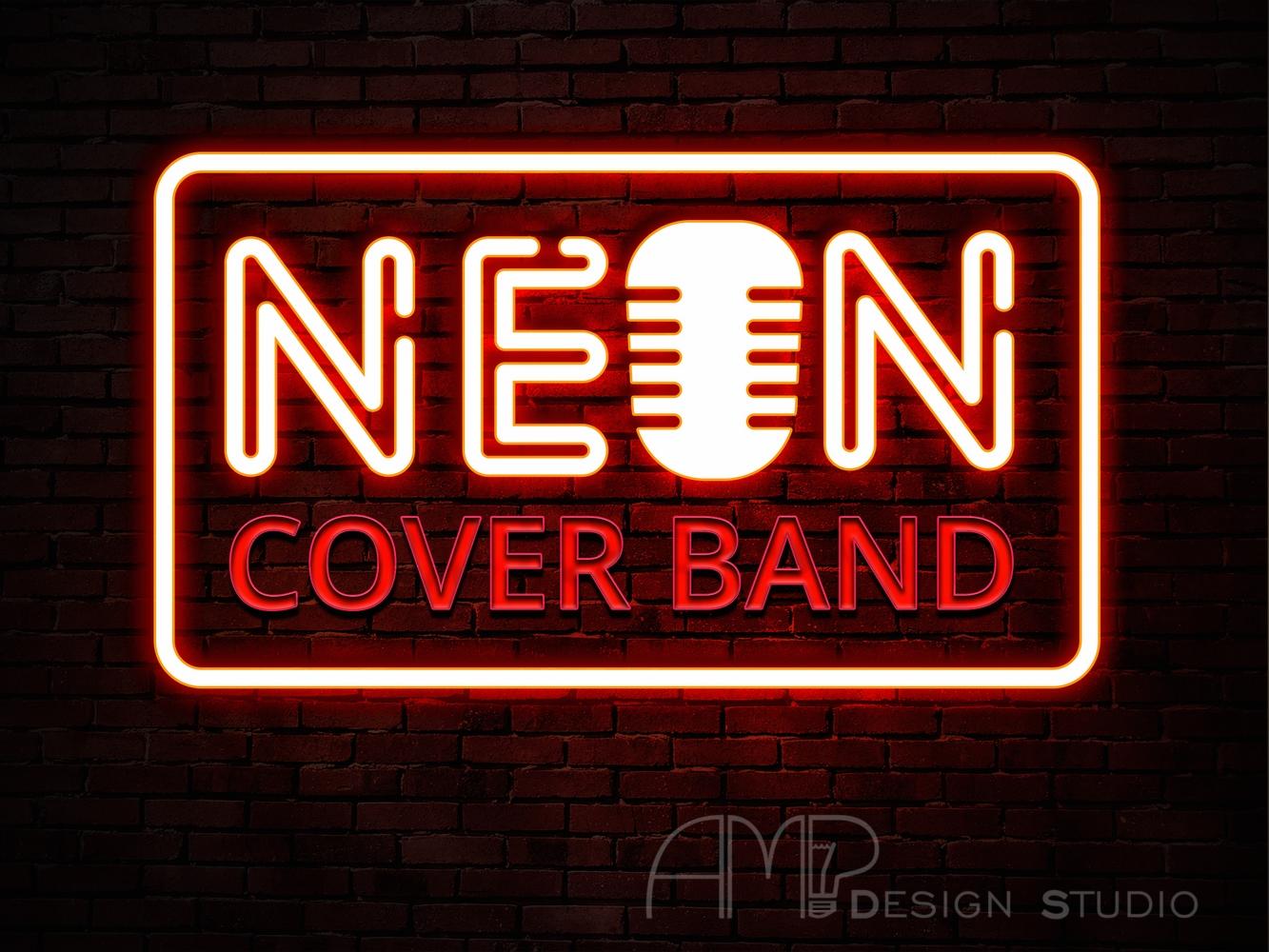 NEON логотип 7
