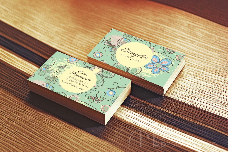 StringArt мастерская визитки