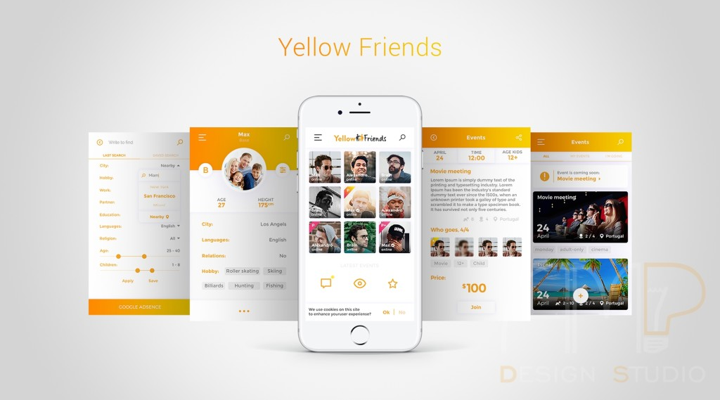 Yellow-Friends